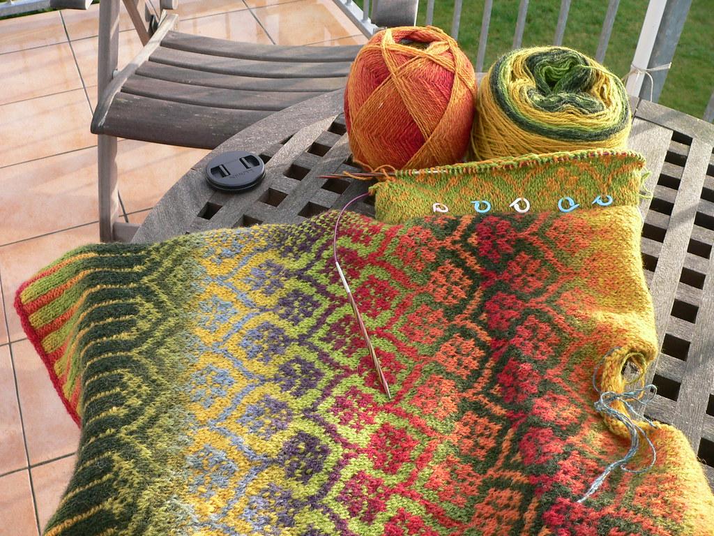 Stranded Knitting Patterns : stranded knit in progress Christiane Struck Flickr
