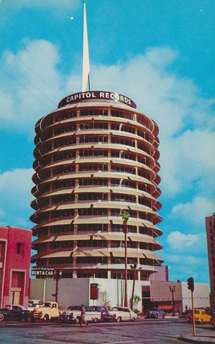 The Capitol Tower - Hollywood, California | by The Cardboard America Archives