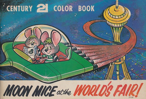 Moon Mice at the World's Fair! - 1962 Seattle World's Fair | by The Cardboard America Archives