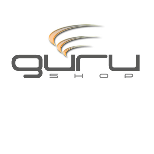 logo guru shop logo per negozio commercio elettronico in. Black Bedroom Furniture Sets. Home Design Ideas