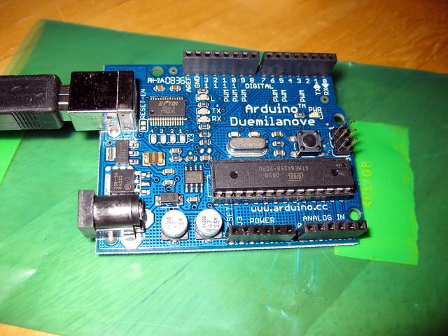 Arduino flickr photo sharing