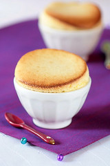 White Chocolate Meyer Lemon Souffles | by tartelette