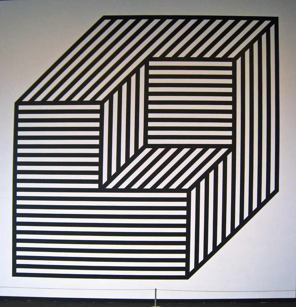 Sol LeWitt, Wall Drawing #356 BB: Cube Without A Cube, 200