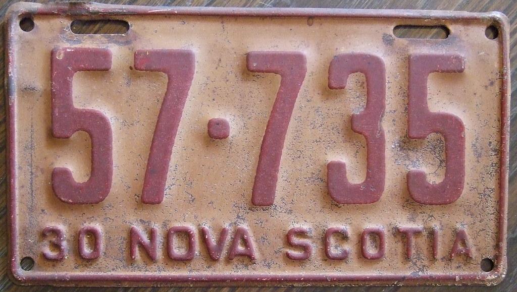 NOVA SCOTIA 193...