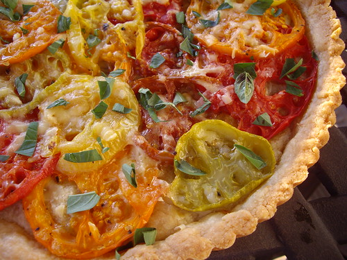 Heirloom Tomato Tart | by swampkitty