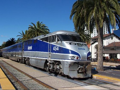Amtrak S Pacific Surfliner At The San Diego Station Flickr