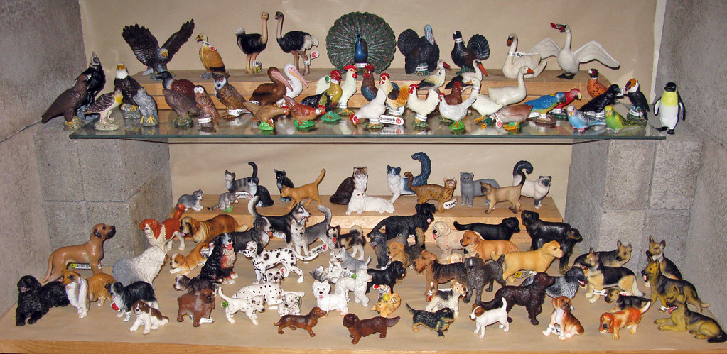 Schleich Dogs Cats And Birds From My Animal Collection