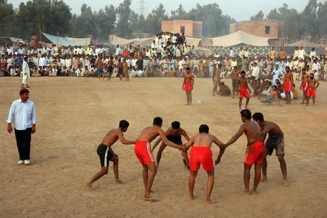 Kabaddi game