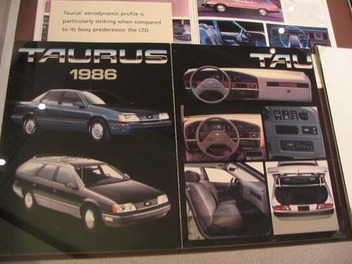 1986 Ford Taurus Brochure Flickr Photo Sharing
