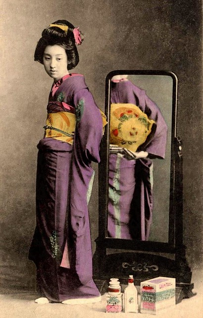 show me the obi maiden in a mirror nice shot of her o� flickr