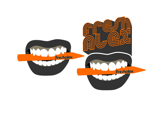 mouth and teeth logo : Logo concept for my own brand ...