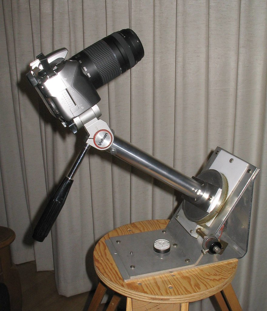 Star Tracking Camera Mount
