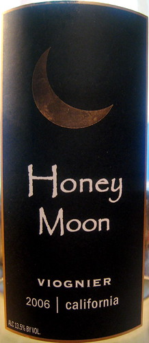 "Trader Moon 2006 ""Honey Moon"" Viognier (front) 