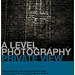 A Level Photography Exhibition Private View Invitation