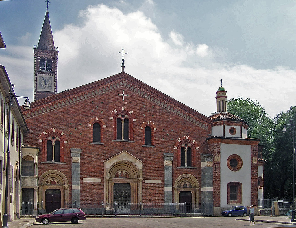 Chiesa di sant 39 eustorgio milano st eustorgio church for Piazza sant eustorgio