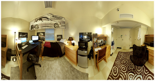 Dorm Room Panorama | Hereu0027s A 71 Photo Panorama I Did Of My U2026 | Flickr Part 98