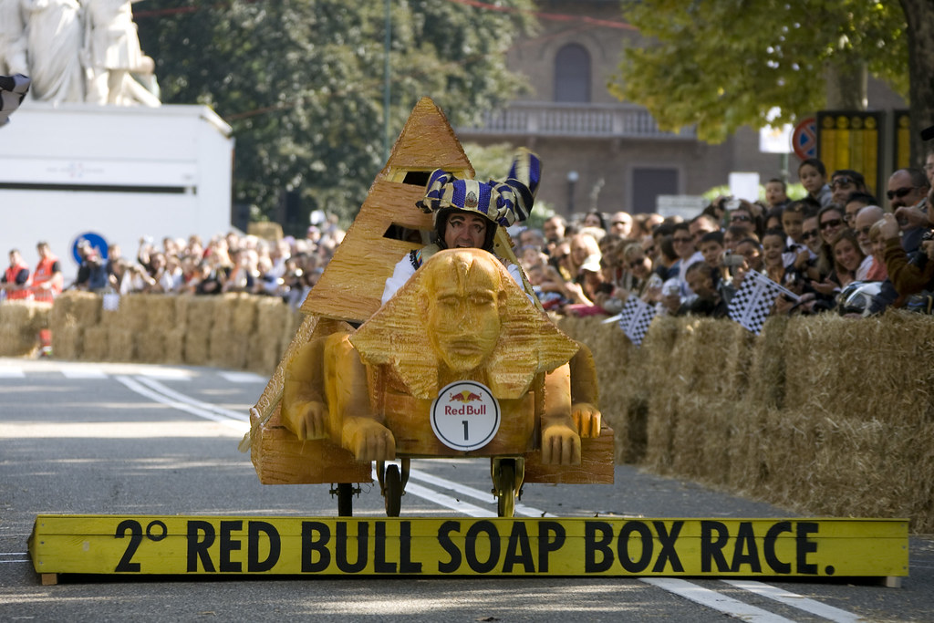 Red Bull Soap Box Car Race Bergen  Injury