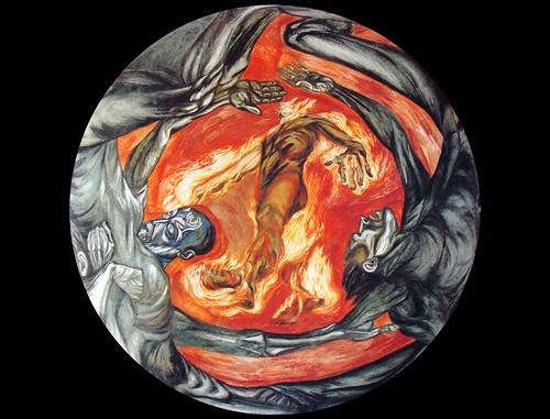 El hombre de fuego hombre energia jos clemente orozco for El hombre de fuego mural de jose clemente orozco