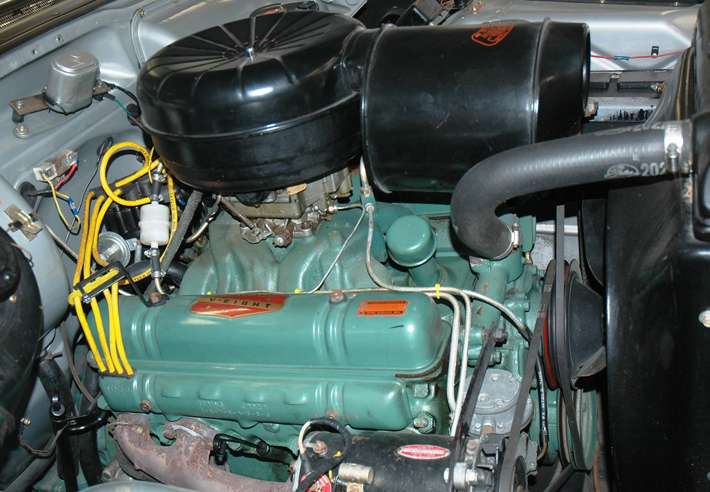 1955 Buick Nailhead V8 The Engine Of The 1955 Buick V8 In Flickr