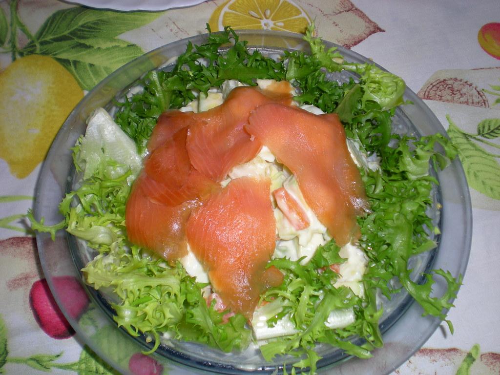 Ensalada de aguacate y salm n ahumado ingredientes - Ensalada de aguacate y salmon ahumado ...