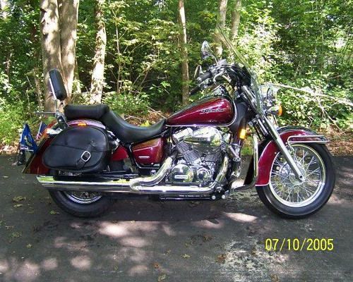 2004 honda shadow 750 aero by navyretired99 www cruisercus flickr. Black Bedroom Furniture Sets. Home Design Ideas