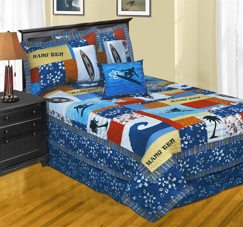 Surfing Themed Quilt | Dean Miller bedding is a nation ...