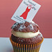 Wear Red Day cupcake - Feb 6th,2009