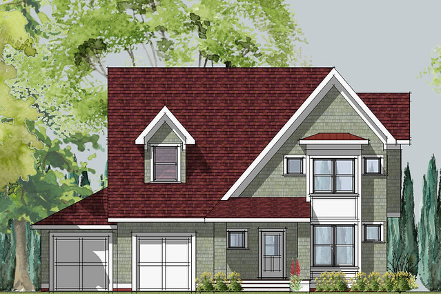hastings small cottage front elevation | House Designed by ...