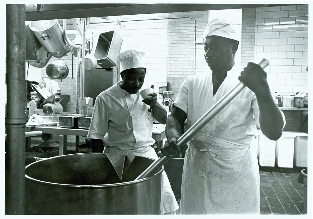 Dining Halls Staff in Kitchen, undated | Repository: Duke ...