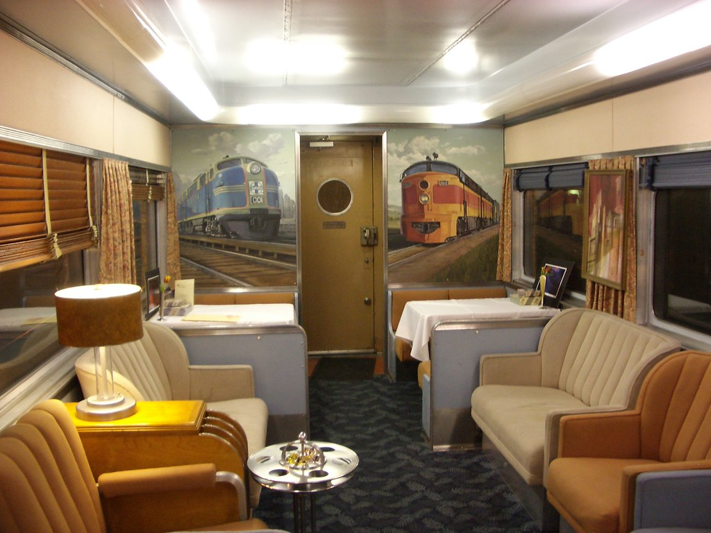 train chartering private rail car overland trail used fo flickr. Black Bedroom Furniture Sets. Home Design Ideas