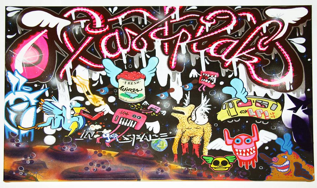 Urban Graffiti Art Canvas Lastplak Graffiti Urban Street Art Canvas