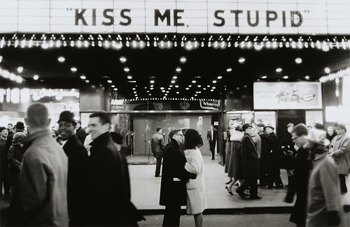 New Year's Eve, NYC, 1965 (Kiss me, stupid) | by CCNY Libraries