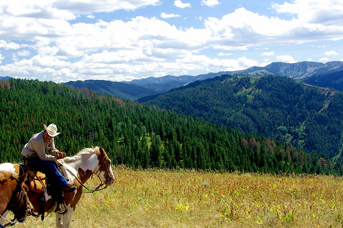Enjoying the view - Wyoming on horseback | by Al_HikesAZ