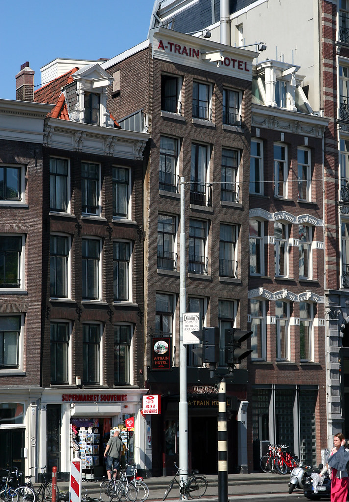 Hotel Train Amsterdam