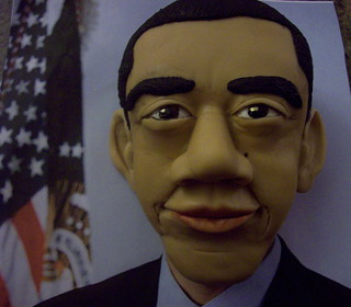 President Obama Cake | by BrownSuga'