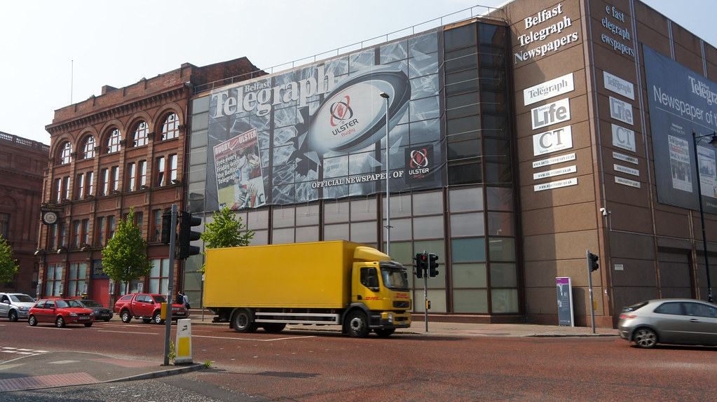 New Belfast Telegraph Building Harbour Estate