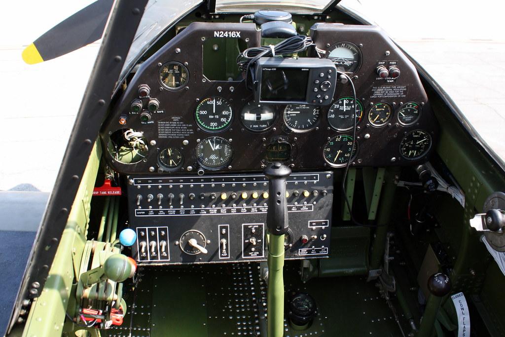 P-40 Warhawk Cockpit images