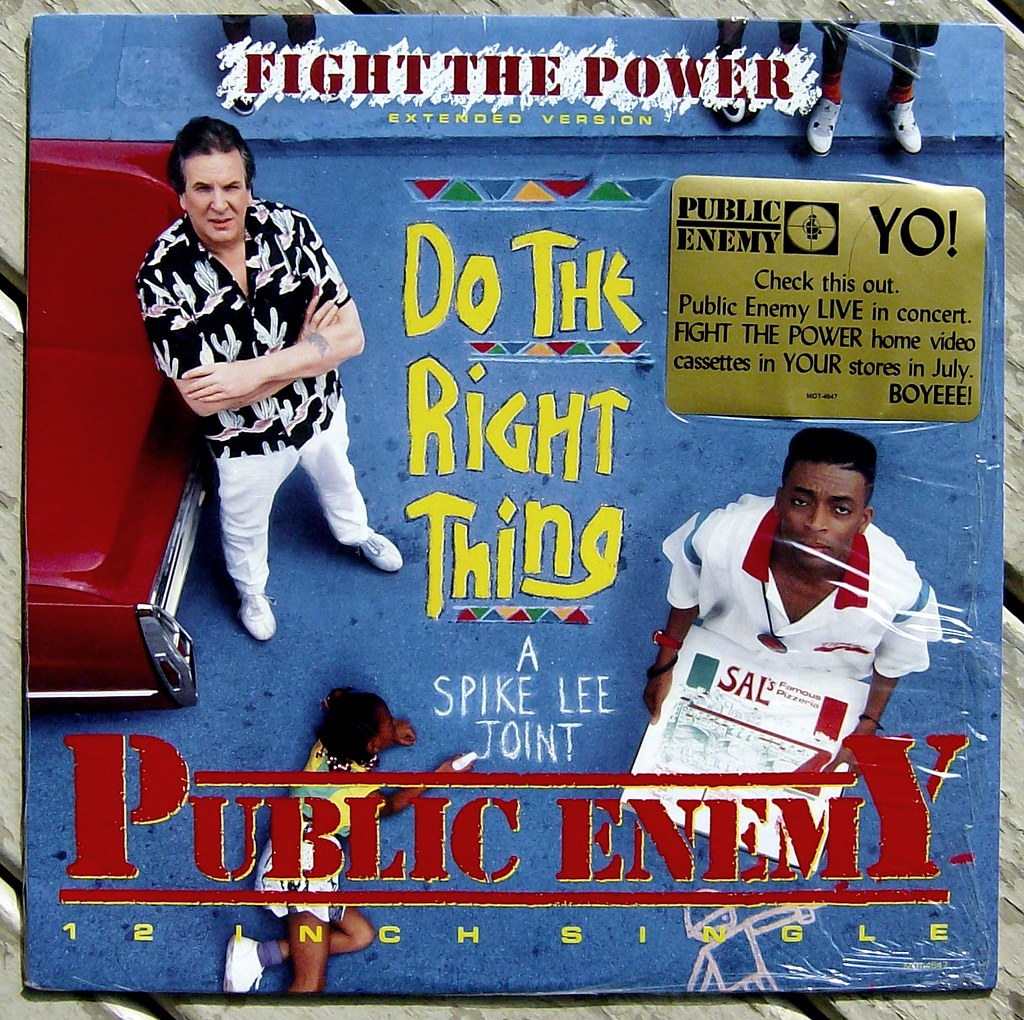 an analysis of public enemys song fight the power Public enemy's fight the power was a wildly popular song in the late 80's/early 90's that appeared on pe's fear of the black planet album, the soundtrack for spike lee&#039s do the right thing, the hbo television.