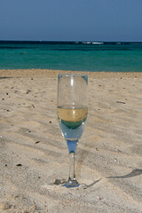 Champagne on the beach | by fancycanoe