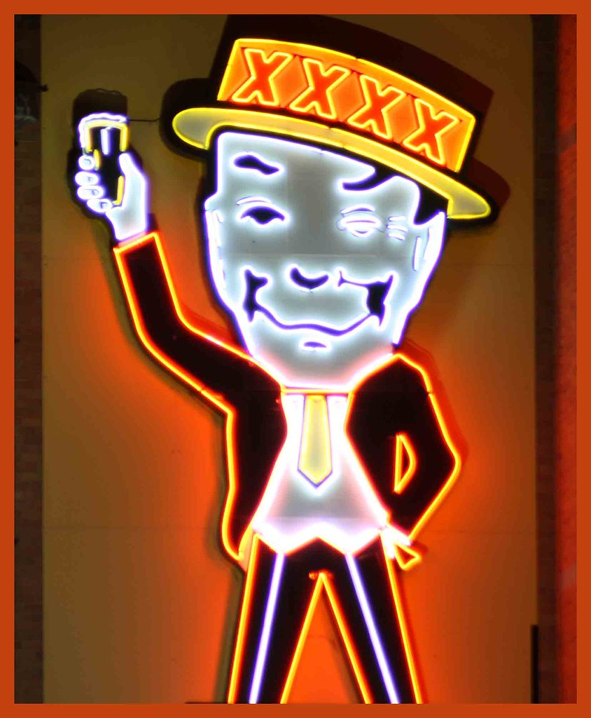 Mr Fourex  This Is The Neon Sign Showing Mr Fourex On The -5691
