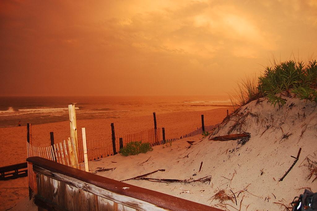Sunset Long Beach Island Nj Beach Haven Sunset Long