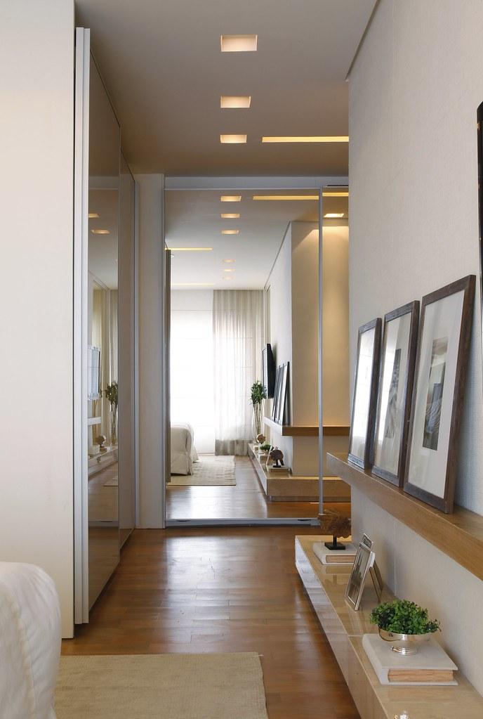 Fotografia do apartamento decorado design campo belo s o - Decoracion de paredes de pasillos ...