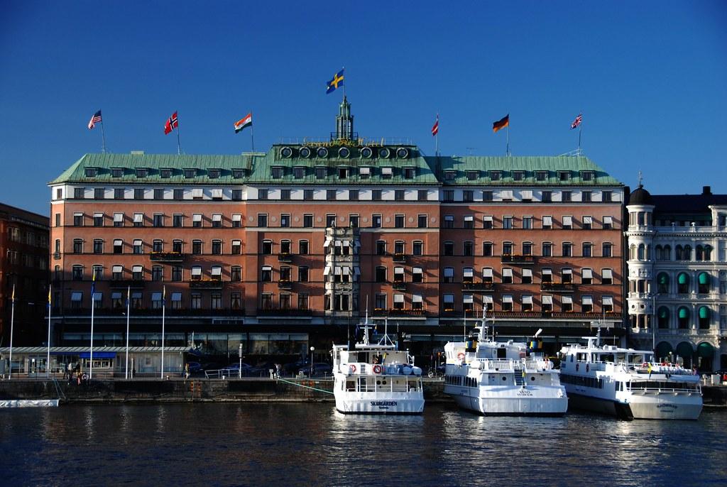Grand Hotel Stockholm Zimmer