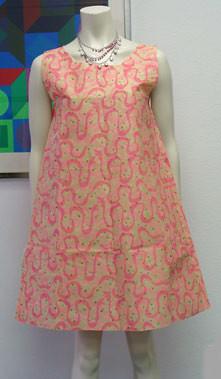 60s Vintage Disposable Paper Dress | The disposable paper ...