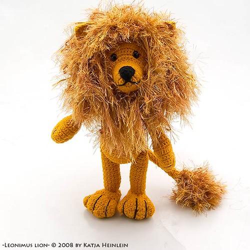 Leonimus Lion, crochet pattern, PDF Hakelanleitung, etsy ...