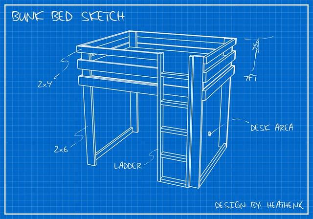 Blueprint Sketch My Afternoon Doodle Heathenx Flickr