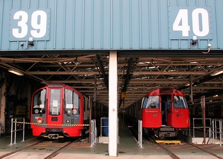 2009 Tube Stock in Northumberland Park depot | by bowroaduk