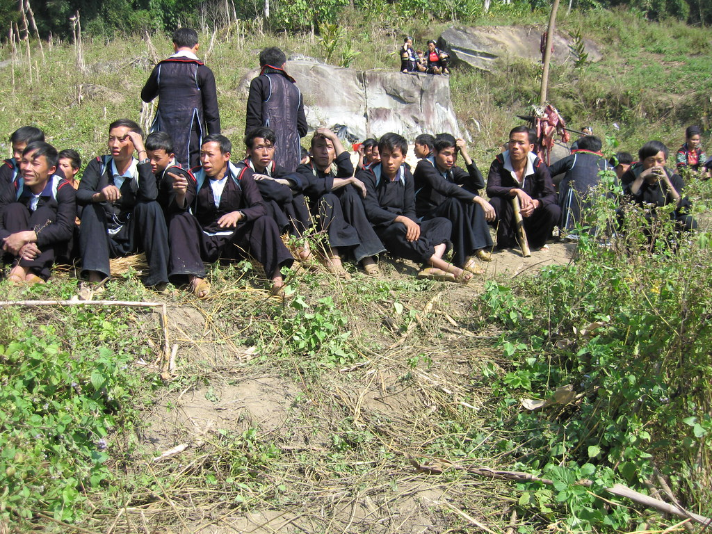 Black Hmong funeral