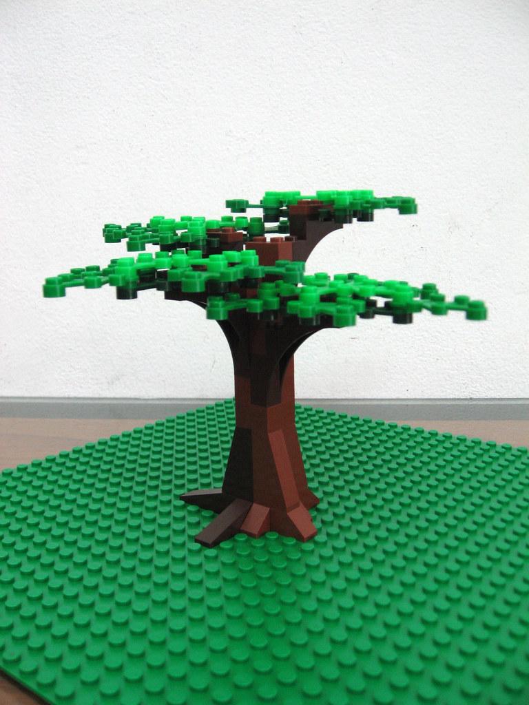 Lego Tree Moc Fungcie Flickr