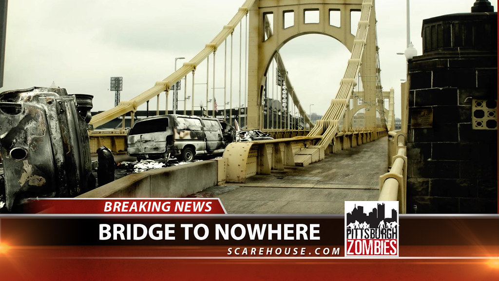 Pittsburgh Zombies Bridge To Nowhere New For 2011 One